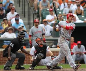 Cincinnati Reds first baseman Joey Votto (19)